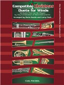 Compatible Christmas Duets For Winds: Alto Saxophone/Baritone Saxophone In Eb