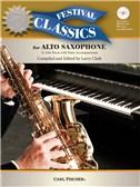Ed. Larry Clark: Festival Classics - Alto Saxophone (Book/CD). Sheet Music, CD