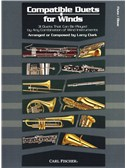 Larry Clark: Compatible Duets For Winds - Flute/Oboe. Sheet Music