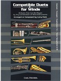 Larry Clark: Compatible Duets For Winds - Clarinet/Trumpet/T.C. Euphonium/Tenor Saxophone. Sheet Music
