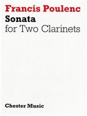 Poulenc: Sonata For Two Clarinets (In B Flat And A) Player