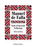 De Falla: Suite Populaire Espagnole
