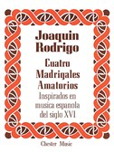 Rodrigo: Cuatro Madrigales Amatorios High voice And Piano