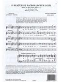 Peter Philips: O Beatum Et Sacrosanctum Diem