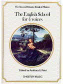 The Chester Book Of Motets Vol. 2: The English School For 4 Voices