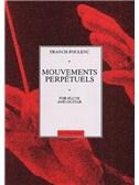 Poulenc  Mouvements Perpetuels (levering)  Flt/gtr