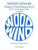 Kohler: Progress in Flute Playing Op.33 Book 2