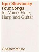 Igor Stravinsky: 4 Songs (Score)