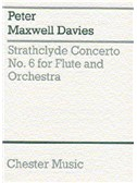Peter Maxwell Davies: Strathclyde Concerto No. 6 (Miniature Score)