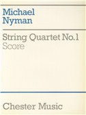 Michael Nyman: String Quartet No. 1 Score