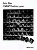 Brian Elias: Variations For Piano