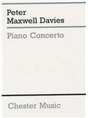 Peter Maxwell Davies: Piano Concerto (Miniature Score)