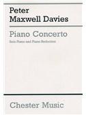 Peter Maxwell Davies: Piano Concerto (2 Piano Score)
