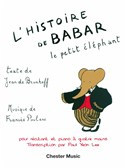 Francis Poulenc: L'Histoire De Babar (For Narrator & Piano Duet – One Piano, Four Hands)