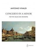 Antonio Vivaldi: Concerto In A Minor - 2 Cellos/Orchestra (Piano Reduction)