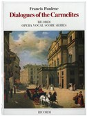 Francis Poulenc: Dialogues Of The Carmelites - Opera Vocal Score