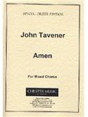 John Tavener: Amen (Score)