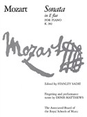 W.A. Mozart: Sonata In E Flat For Piano K.282