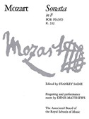 W.A.Mozart: Sonata In F K.332