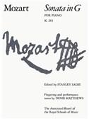 Mozart: Sonata In G K.283 (Piano)