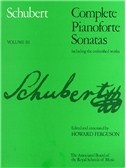 Franz Schubert: Complete Pianoforte Sonatas Including The Unfinished Works - Volume III (ABRSM)