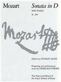 W.A. Mozart: Sonata In D K.284