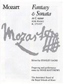 W. A. Mozart: Fantasy And Sonata In C Minor For Piano K.475/457