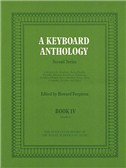 A Keyboard Anthology - Second Series Book IV