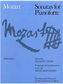 W.A. Mozart: Sonatas For Pianoforte Volume 1 (ABRSM)