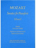 W.A Mozart: Sonatas for Pianoforte - Volume I Hardback (eds. Sadie/Matthews)