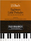 J.S. Bach: Eighteen Little Preludes