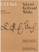 C.P.E Bach: Selected Keyboard Works - Book I