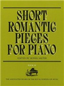 Short Romantic Pieces For Piano Book 3