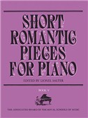 Short Romantic Pieces For Piano Book 5