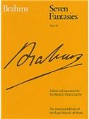 Johannes Brahms: Seven Fantasies Op.116