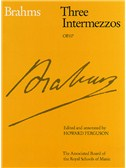 Johannes Brahms: Three Intermezzos Op.117