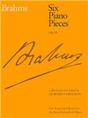 Johannes Brahms: Six Piano Pieces Op.118