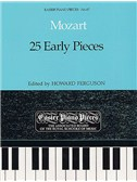 W.A. Mozart: 25 Early Pieces