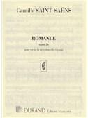 Camille Saint-Saens: Romance Op.36