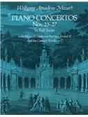 W.A. Mozart: Piano Concertos Nos. 23-27 (Full Score)