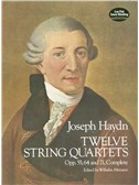F.J. Haydn: Twelve String Quartets