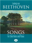 Ludwig Van Beethoven: Songs For Solo Voice And Piano