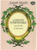 Joseph Haydn: Complete London Symphonies Nos.93-98 In Full Score