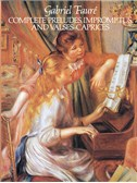 Fauré, Gabriel : Livres de partitions de musique