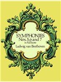 Beethoven: Symphonies Nos. 5, 6 And 7 (Full Score)