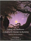 Beethoven: Complete Piano Sonatas - Volume II (Dover Edition)
