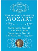 W.A. Mozart: Symphony No. 40 In G Minor K550 And Symphony No. 41 In C Major K551, 'Jupiter'