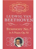 Beethoven: Symphony No.7 In A, Op.92 (Miniature Score)