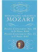 W.A.Mozart: Piano Concerto No.20 in D Minor K466, Piano Concerto No.21 in C Major K467 (Score)