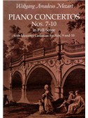 Mozart: Piano Concertos Nos. 7-10 In Full Score